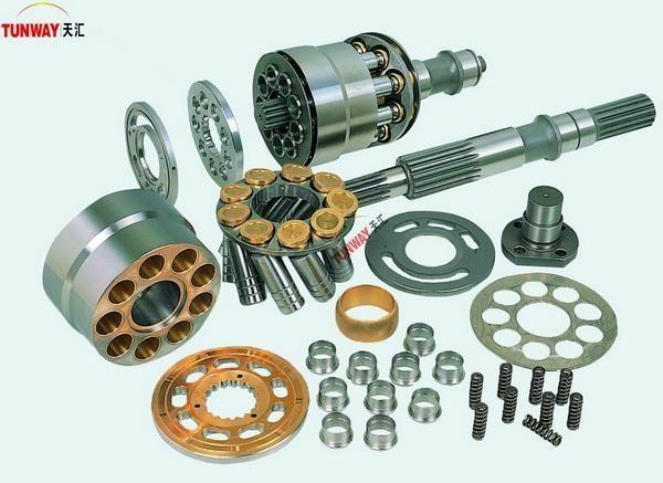 Caterpillar excavator spare parts hydraulic pump parts reduction